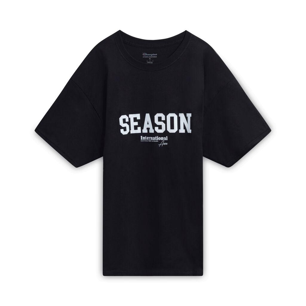 Season International T-Shirt- Black