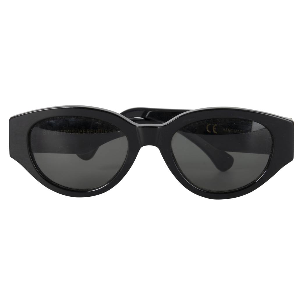 "Retrosuperfuture ""Drew Mama"" Black Sunglasses"