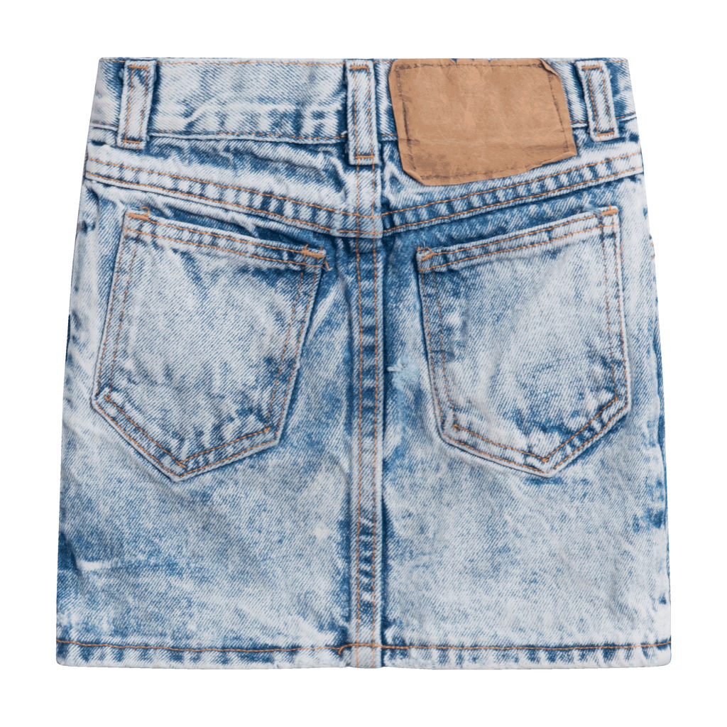 No Excuses Denim Skirt