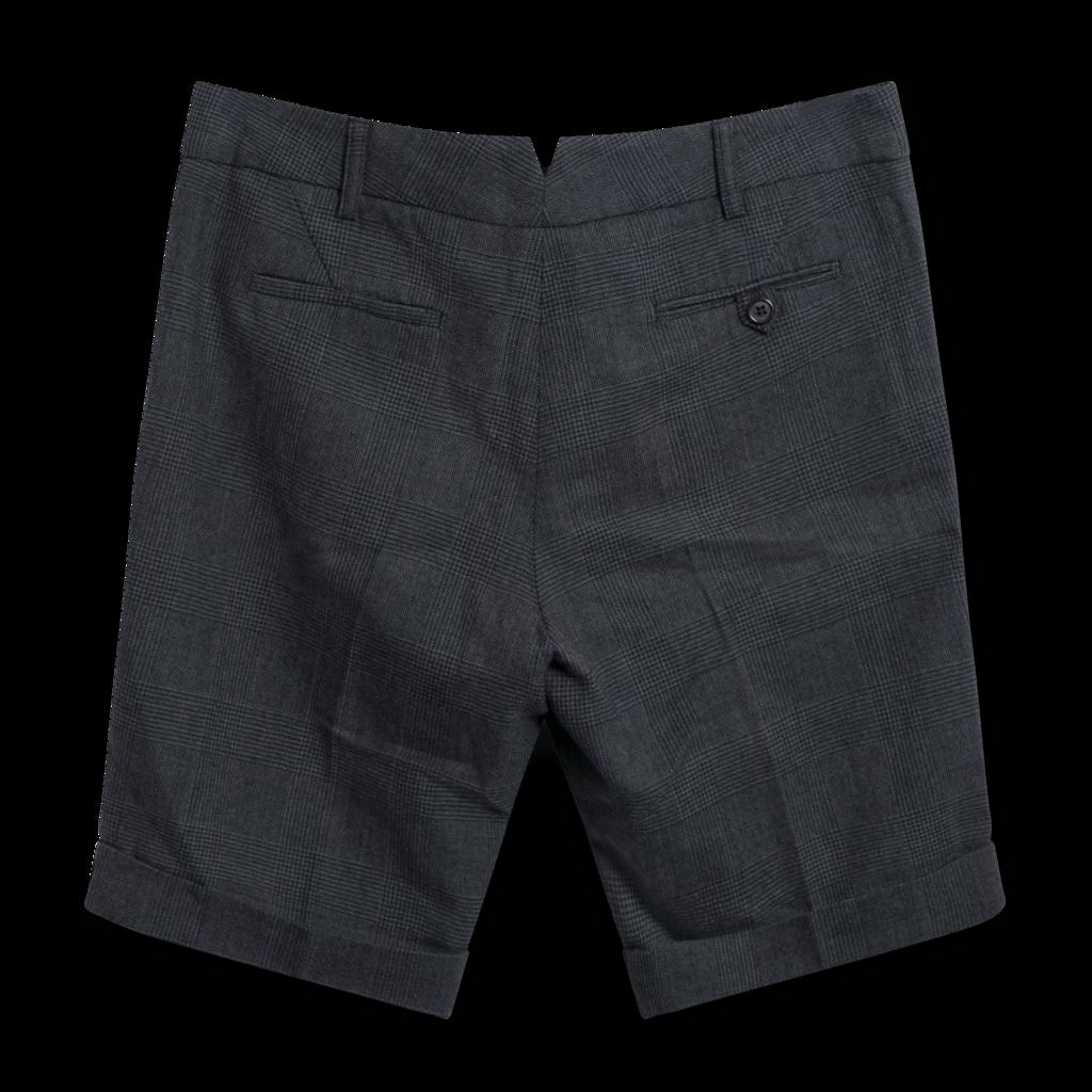 Forte Forte Plaid Wool Shorts