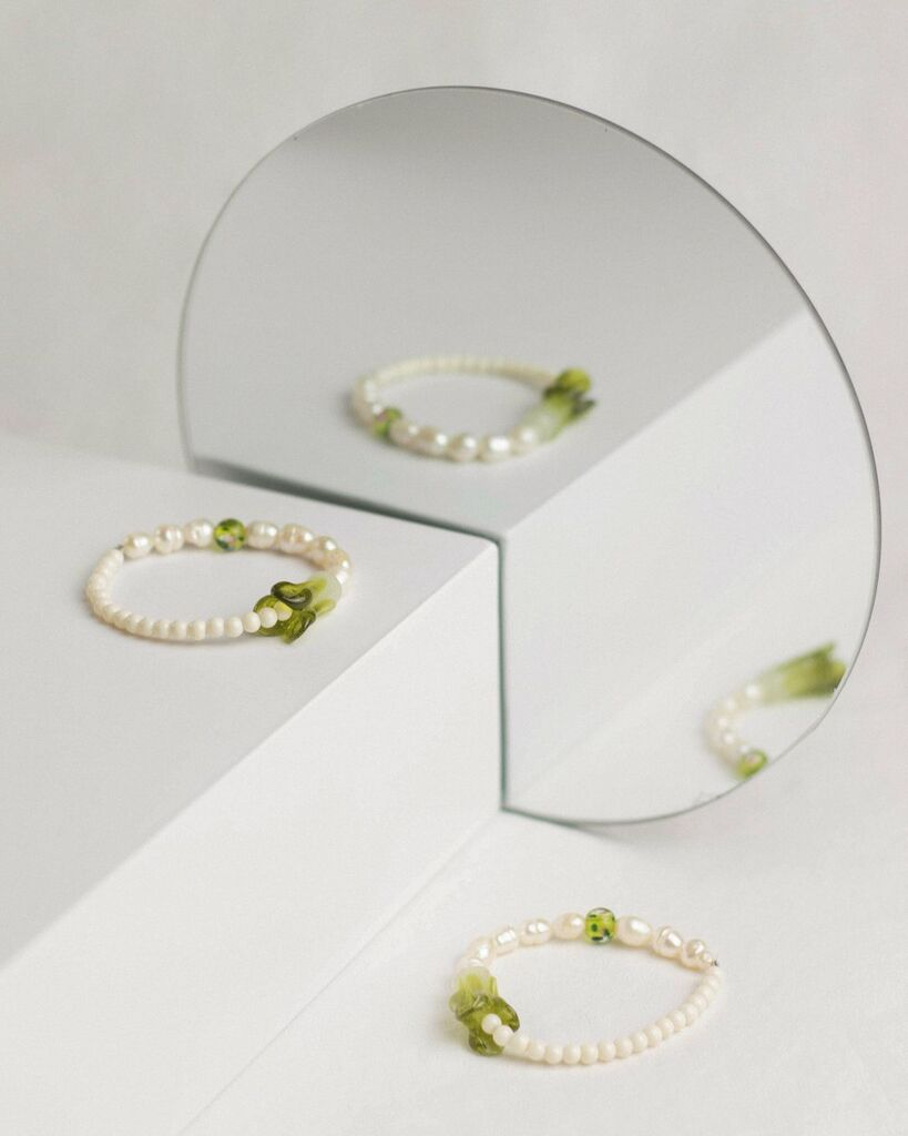 OCIN x Bisous beads Bok Choy Bracelet