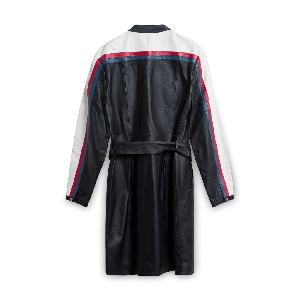 Newport News Leather Coat