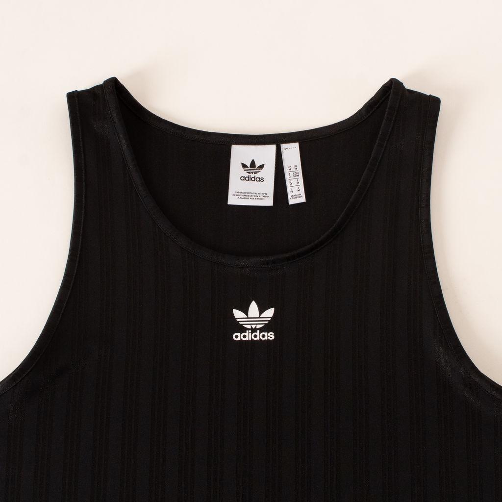 Adidas Adicolor Soccer Tank In Black