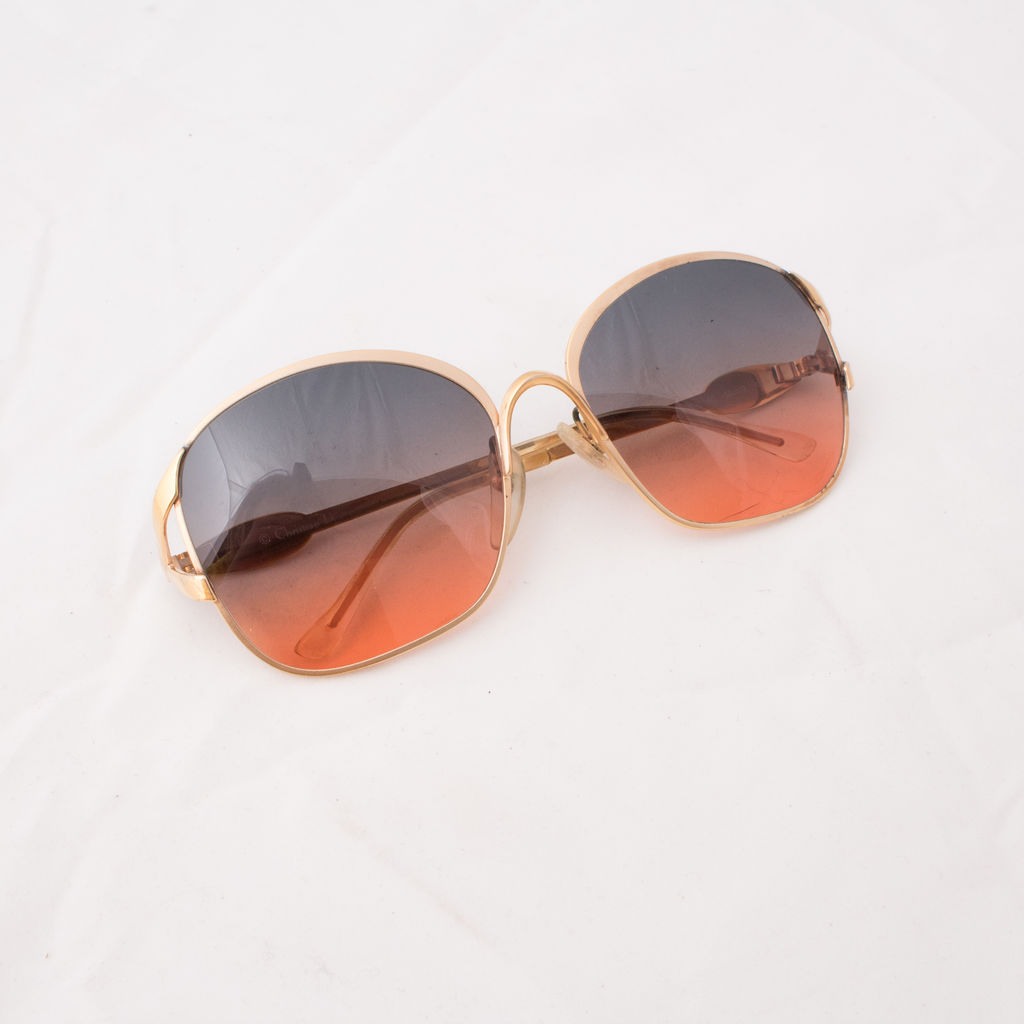 7804a83f8c28 Christian Dior Vintage 1970's Sunglasses | Basic Space
