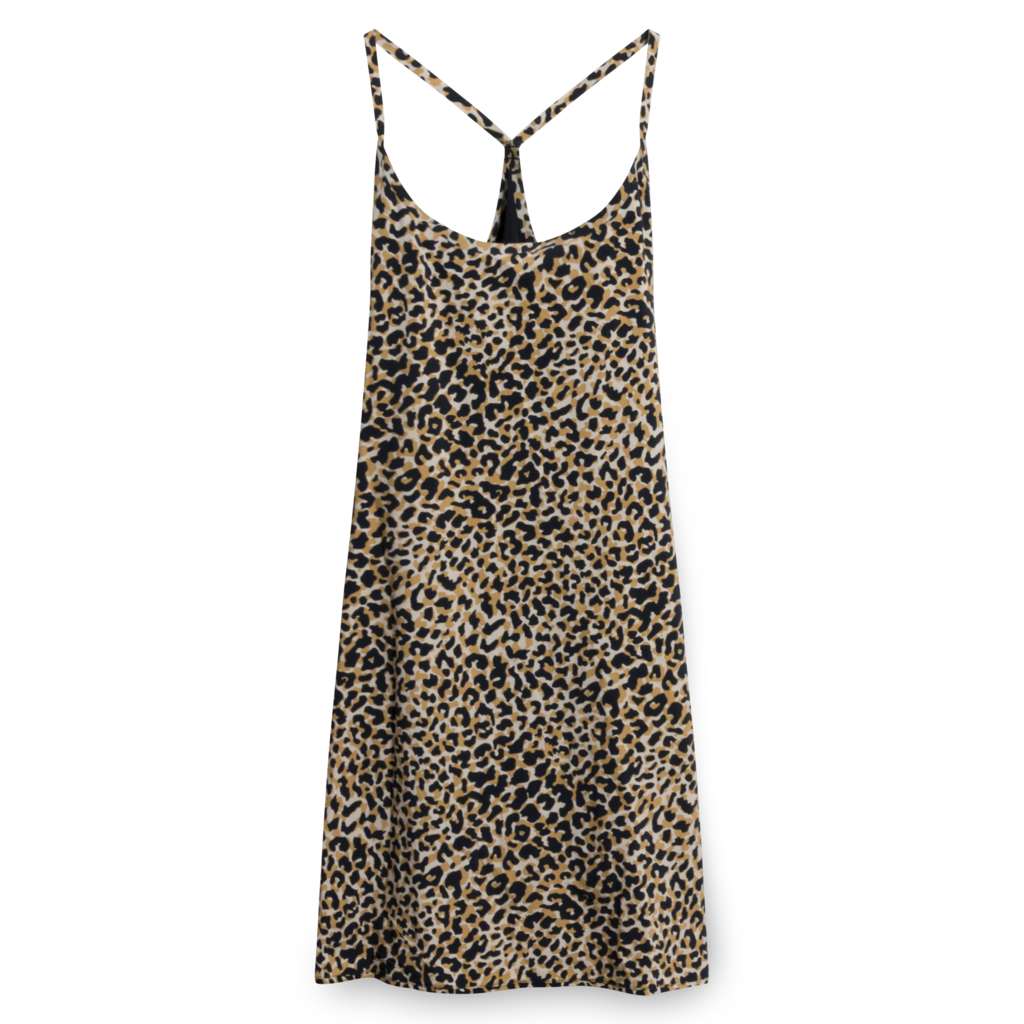 Outdoor Voices The Exercise Dress in Leopard