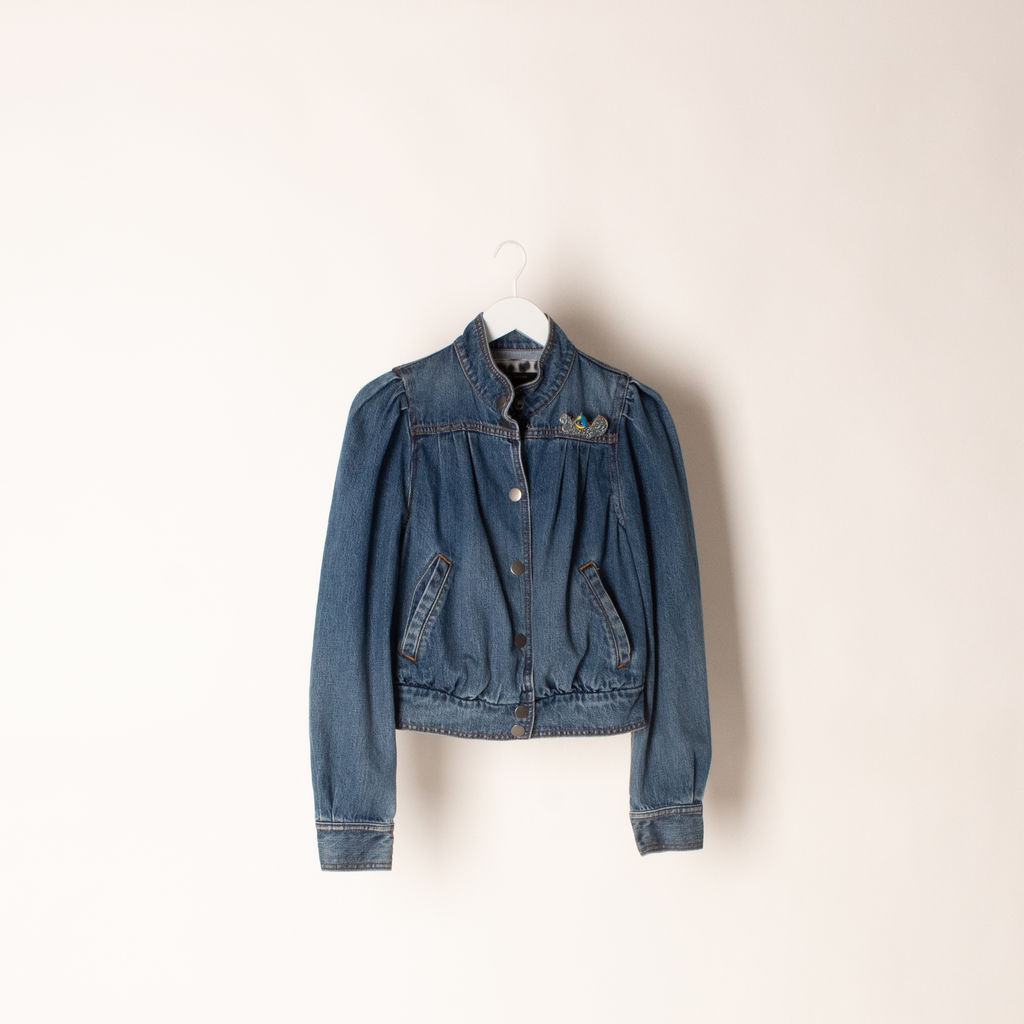 Marc Jacobs Shrunken 80's Bomber Jacket