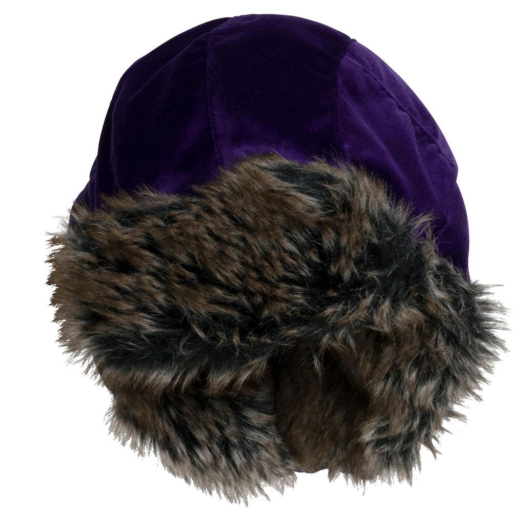 Supreme Velvet Polka Dot Trooper Hat