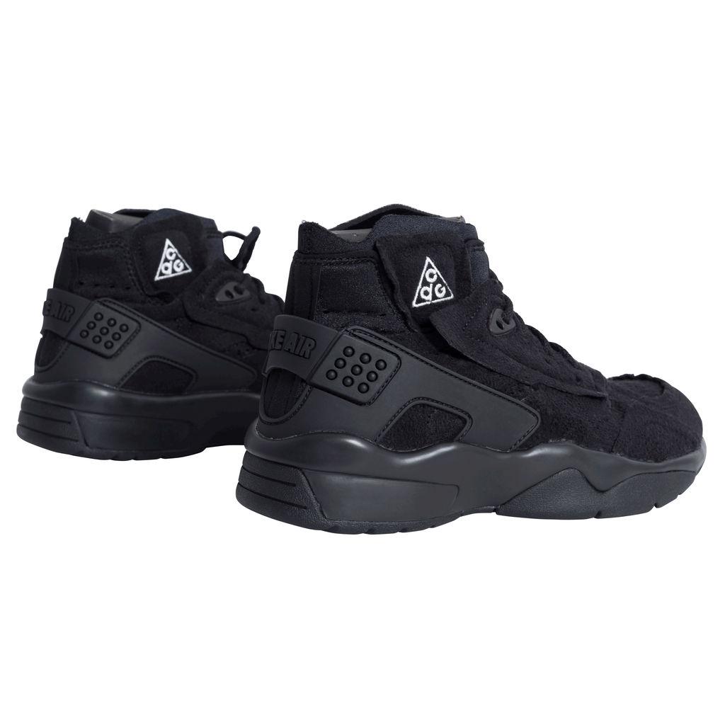 Comme des Garçons x Nike Air Mowabb Sneakers - Black
