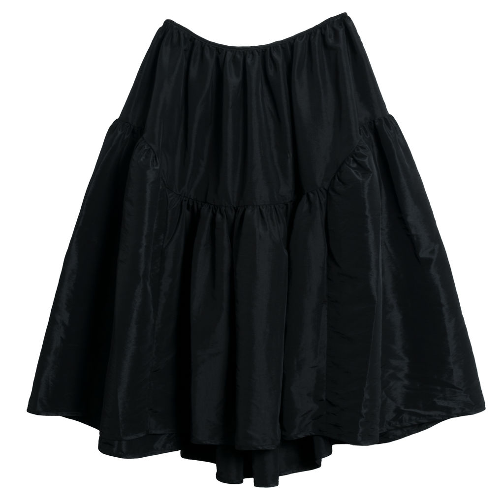 Cecilie Bahnsen Gathered Shell Midi Skirt