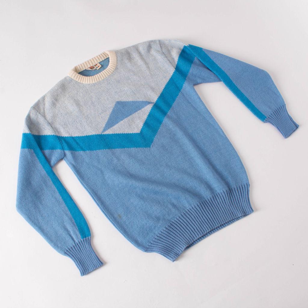 Vintage ellesse Geometric Tennis Pullover