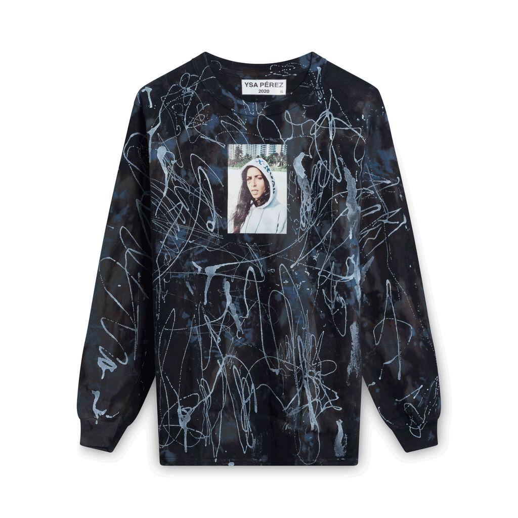 YSA x Jade 2020 Longsleeve Shirt - Paint Splatter