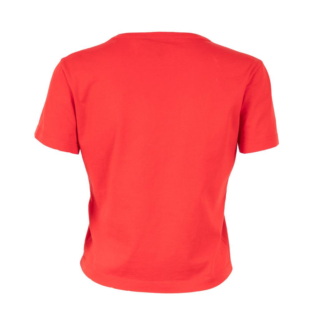 Fiorucci Soda Logo Crop T-Shirt