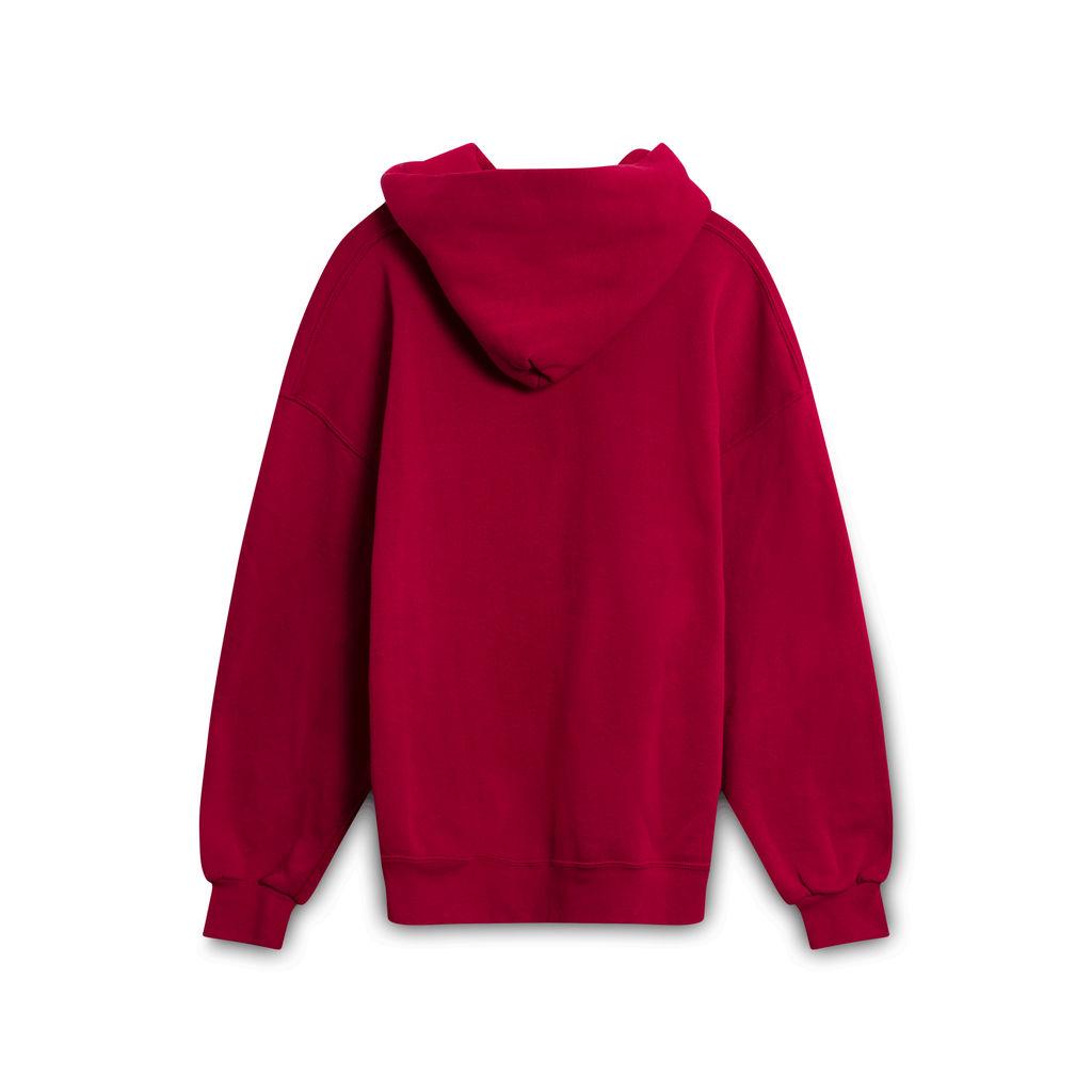 Vintage Russell Hoodie- Red