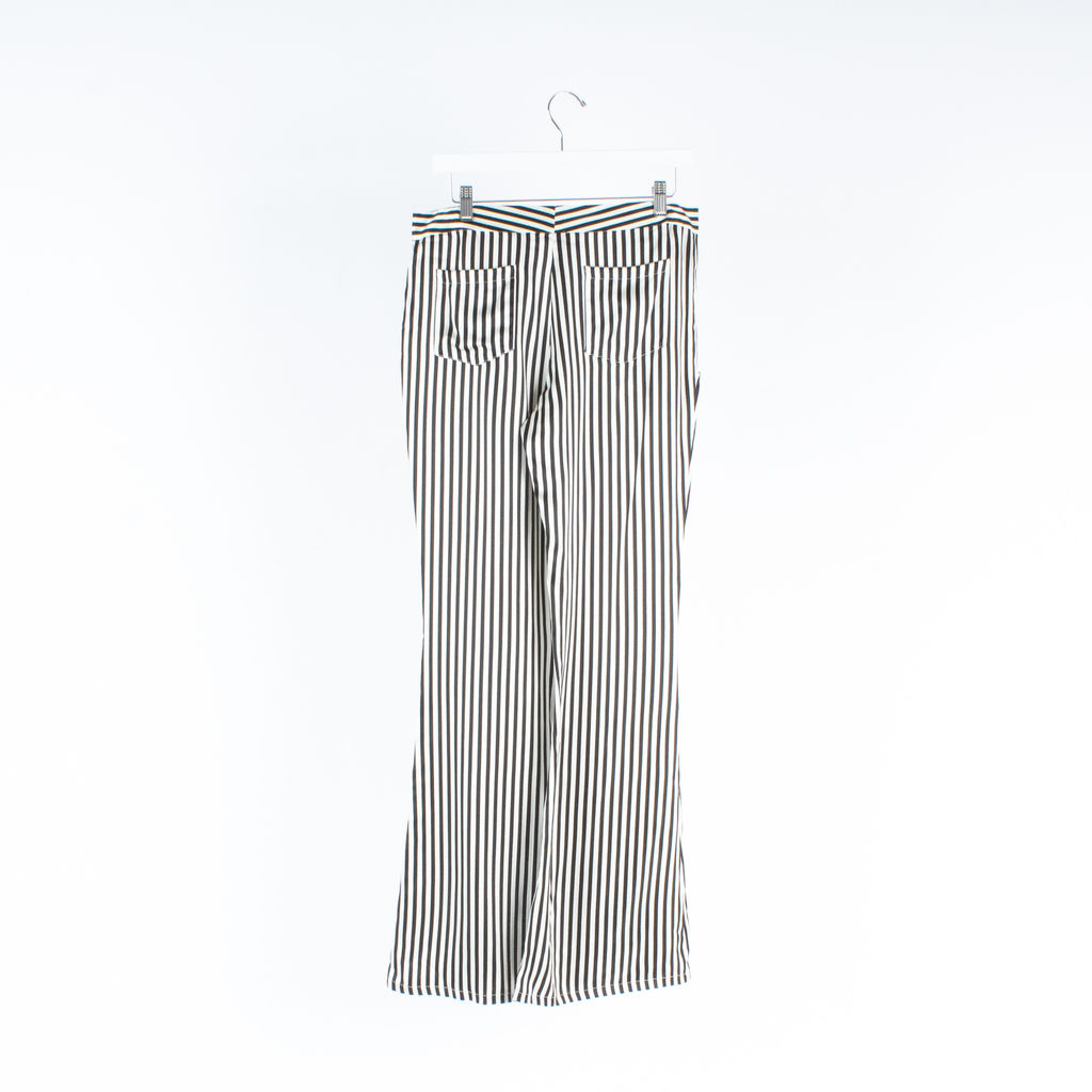 AGAIN Los Angeles Striped Trousers
