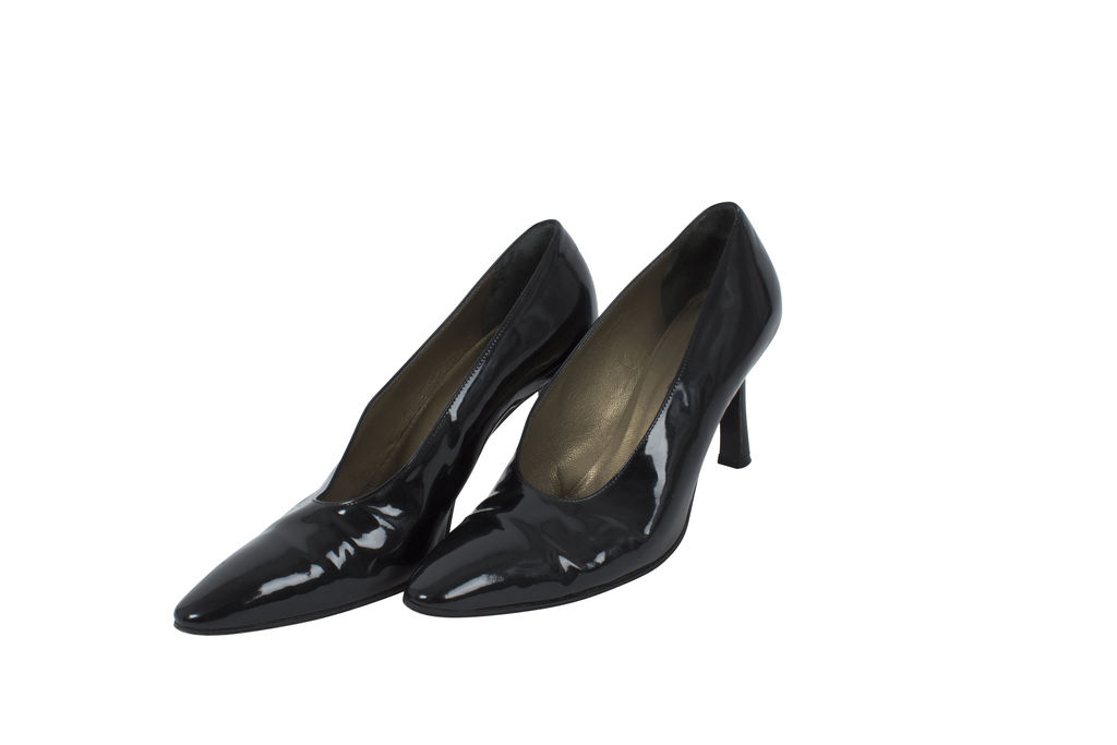 Vintage YSL Patent Leather Pumps