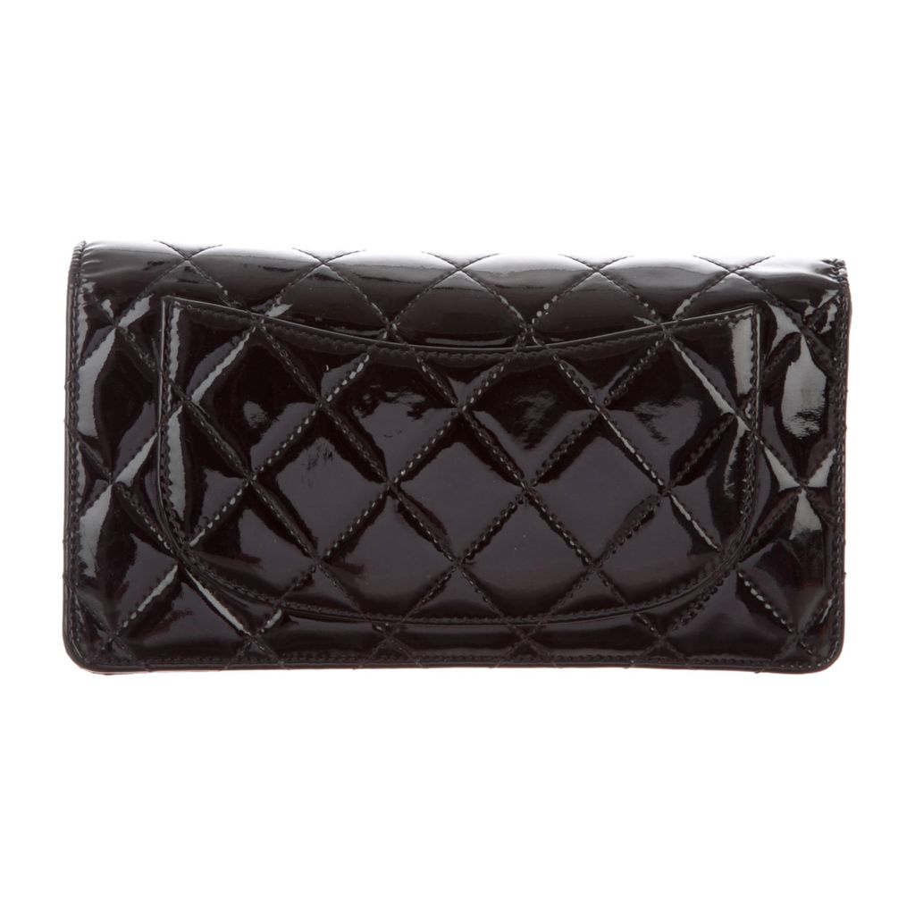 Chanel Yen Patent Leather Wallet