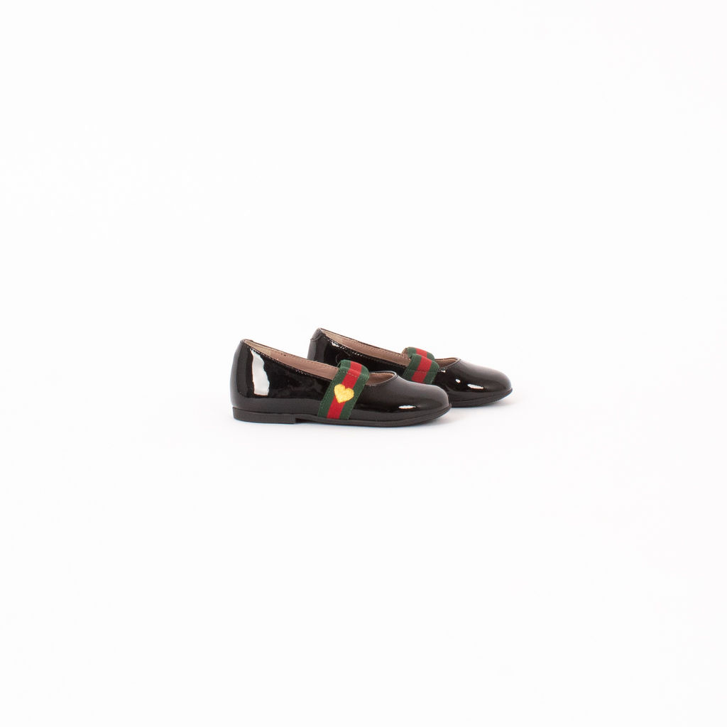 Gucci Children's Patent Finish Mary Janes