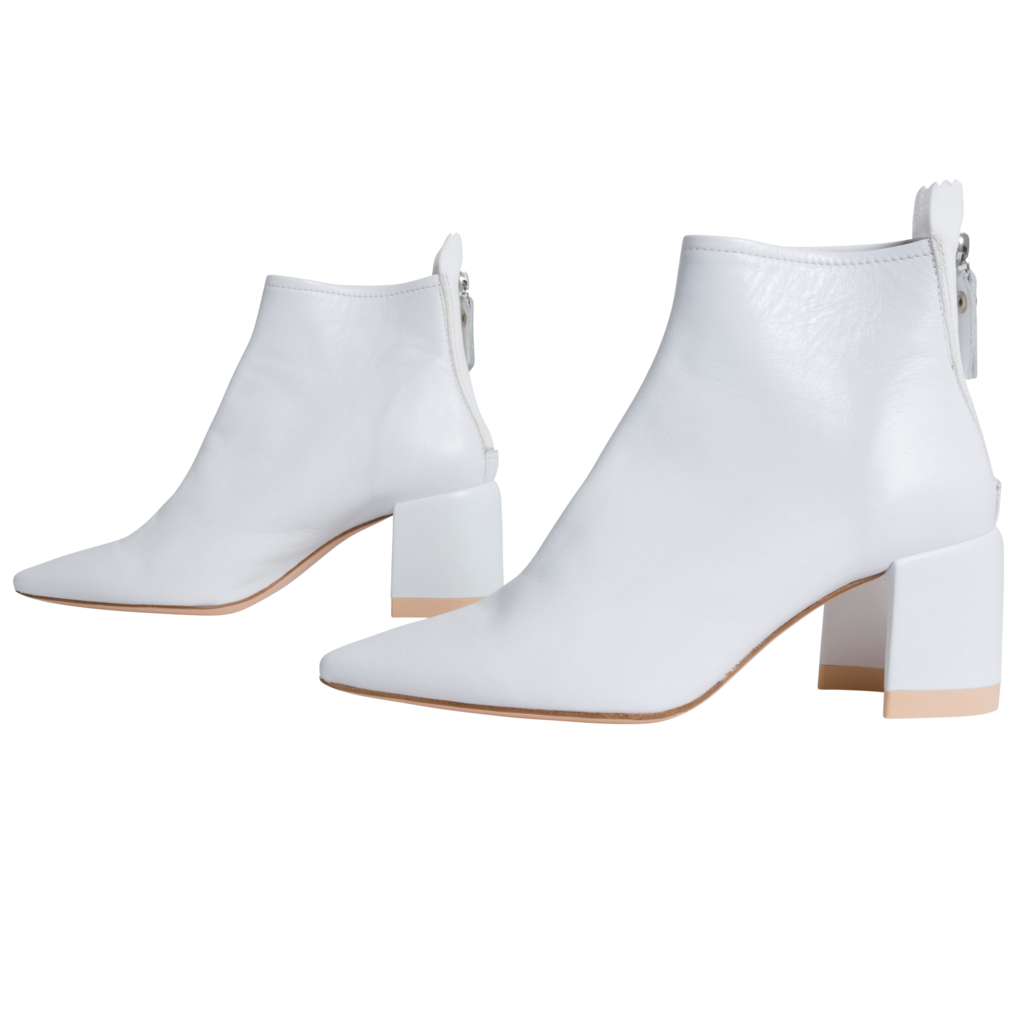 AGL Moon Ankle Boot in White