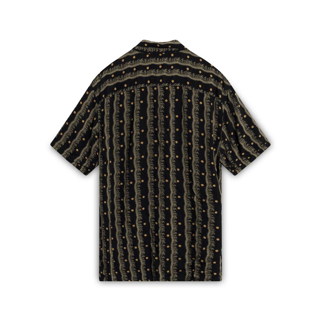 ALLSAINTS Black Hawaiian Button-down shirt