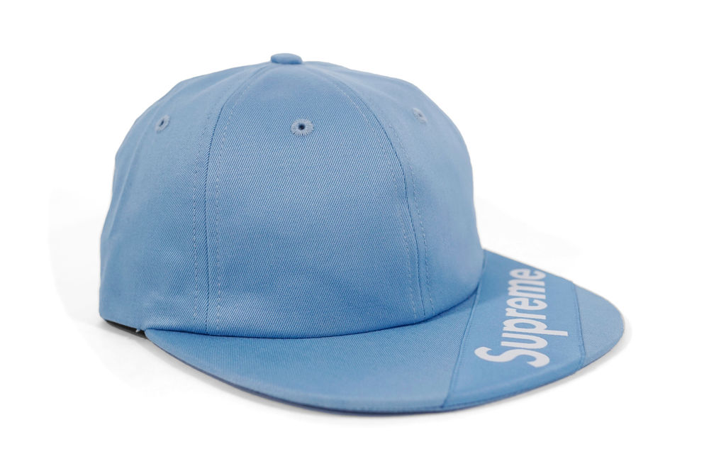 Visor Label 6 Panel Strapback