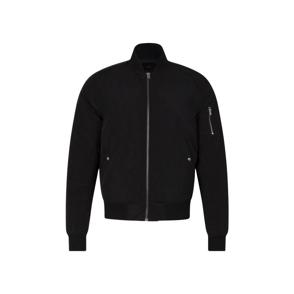 IRO Men's Black 'Sigvald' Bomber Jacket