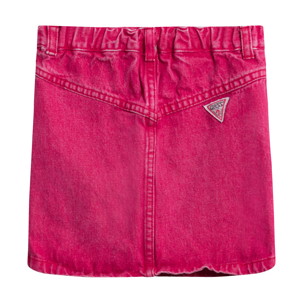 Guess Kids Denim Red Skirt