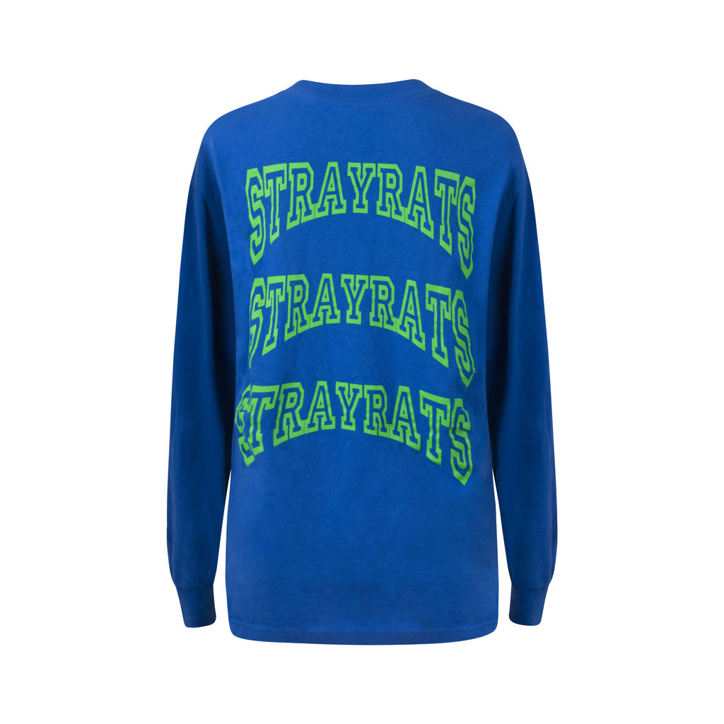 Stray Rats Arc Blue Long Sleeve