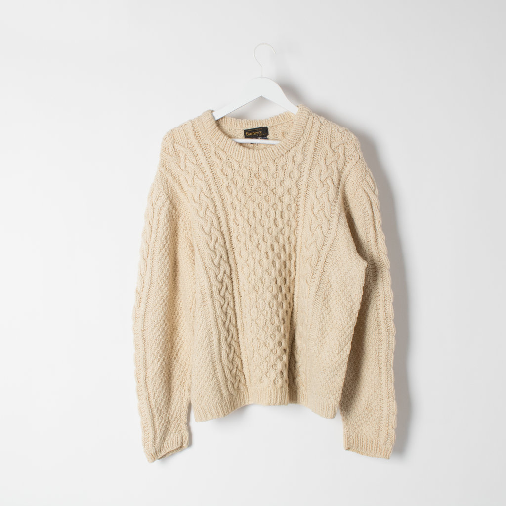 Vintage Barneys NY Fisherman Sweater curated by Sophia Amoruso