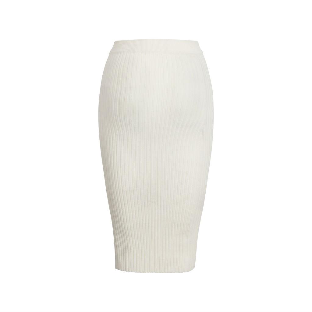 GIU GIU Nonna Tube Skirt- Ivory