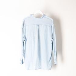 Vintage Moschino Oversized Denim Shirt  curated by Sami Miro