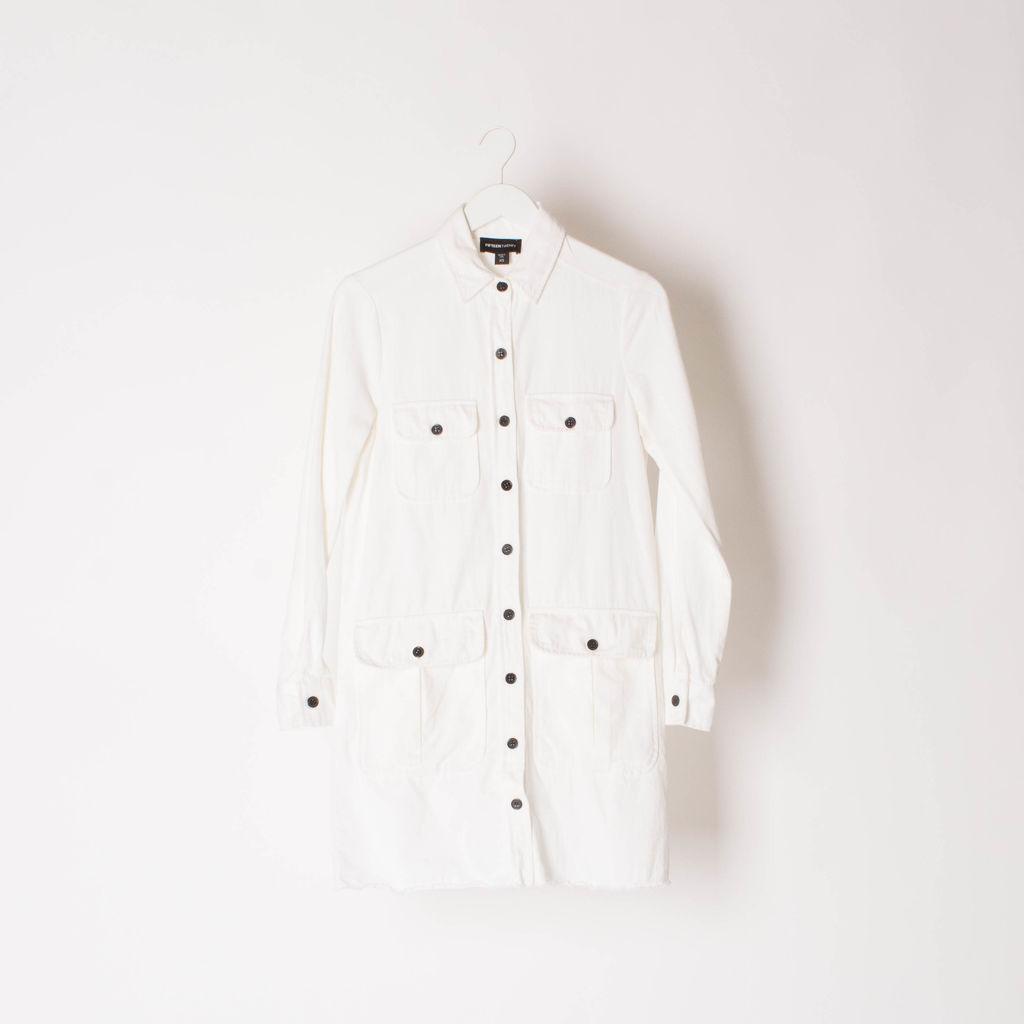 FIFTEENTWENTY White Overshirt