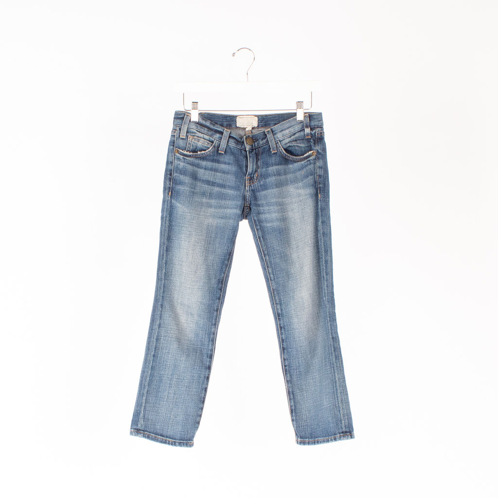 Current/Elliott The Matchstick Cropped Jeans curated by Samantha Jo Alonso