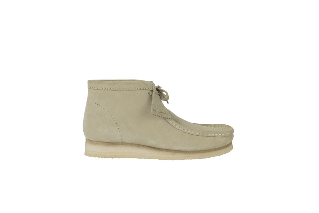 Men's Wallabee Boot- Maple Suede