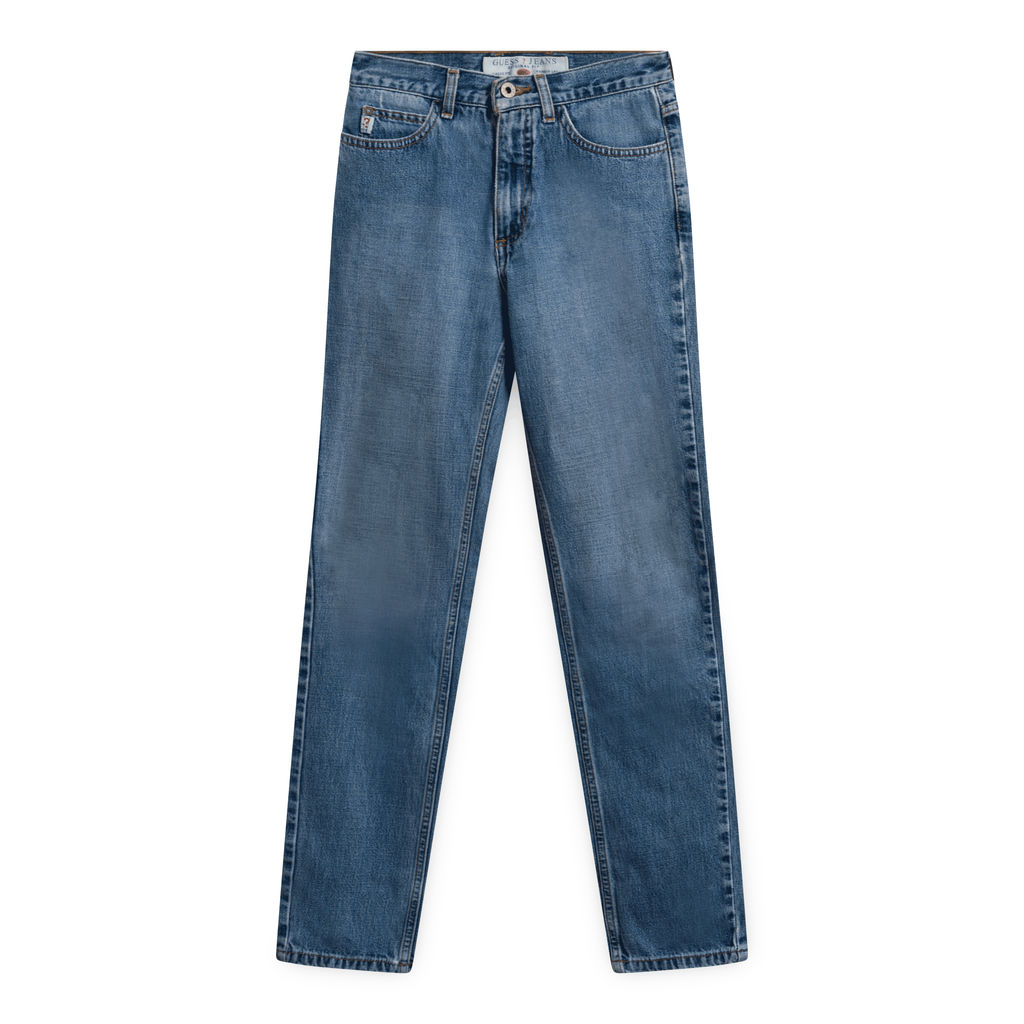 Guess 050 Original Fit Narrow Leg Jeans-Washed Out Blue