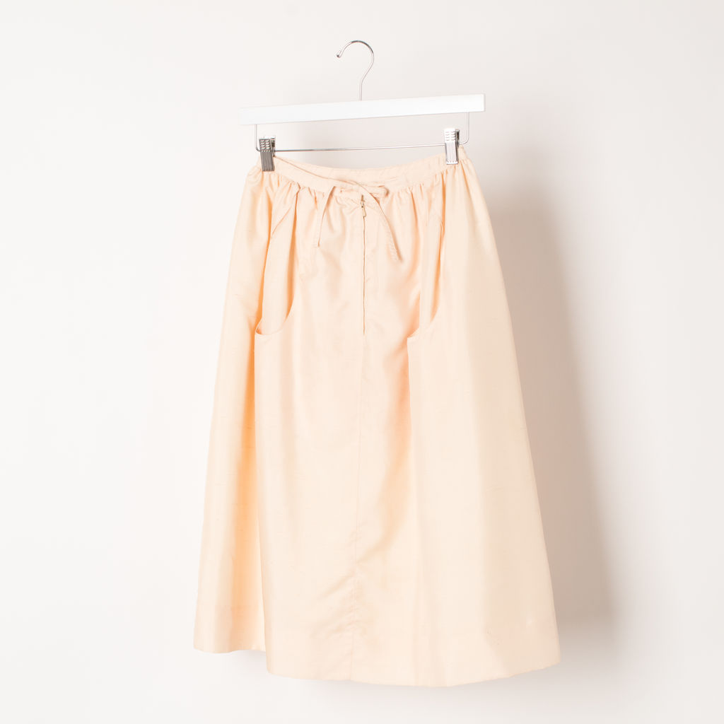Courreges Paris Vintage Summer Top + Skirt Set