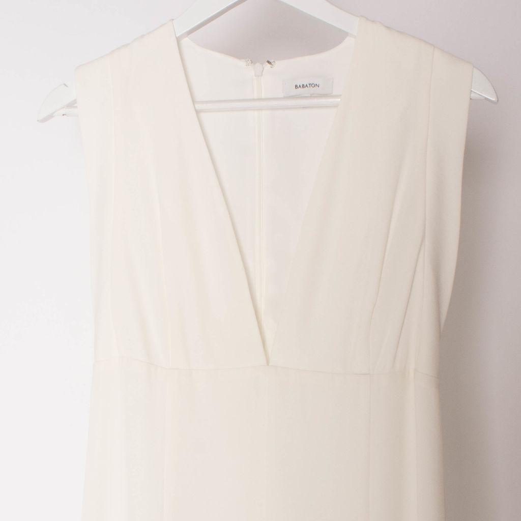 Babaton Off White Askell Maxi Dress