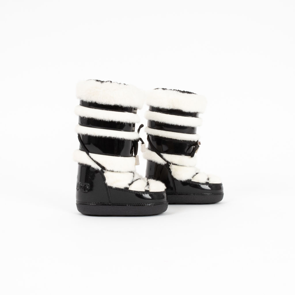 Dior Children's Faux Fur Booties