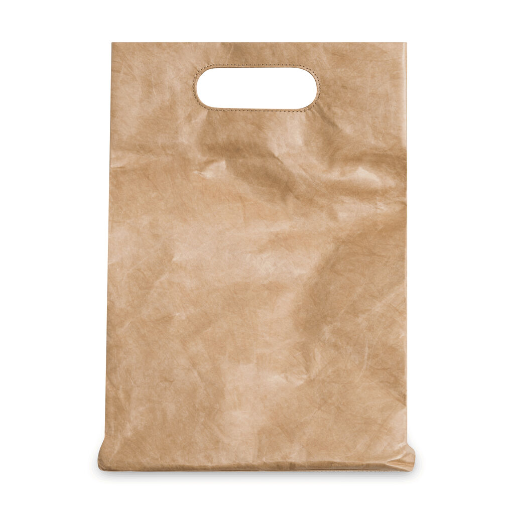 Charles and Keith Crumpled Effect Tote Bag - Light Brown