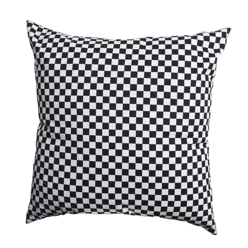 Checkered Floor Pillow