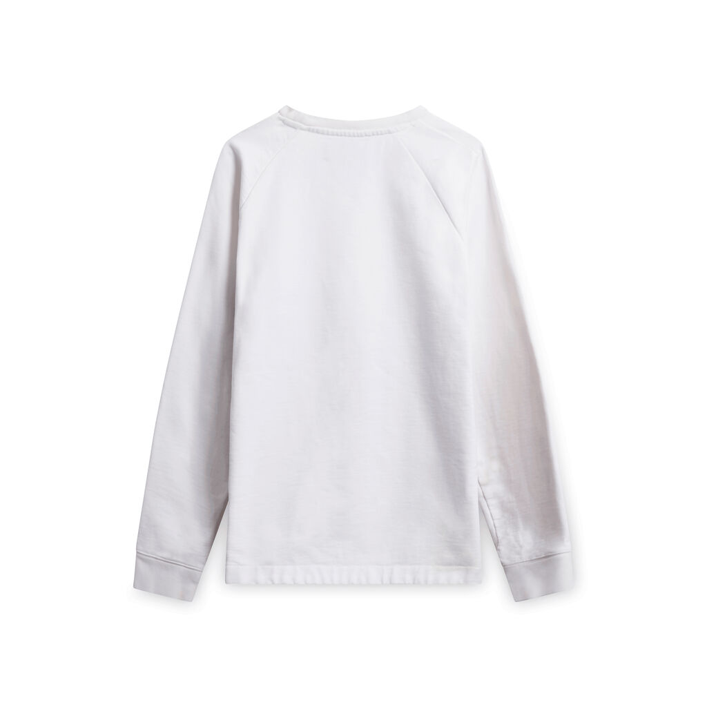 Missoni/Pigalle Embroidered White Sweatshirt