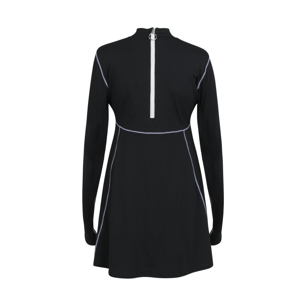 Women's Nike X Olivia Kim Nrg Long Sleeve Performance Tennis Dress
