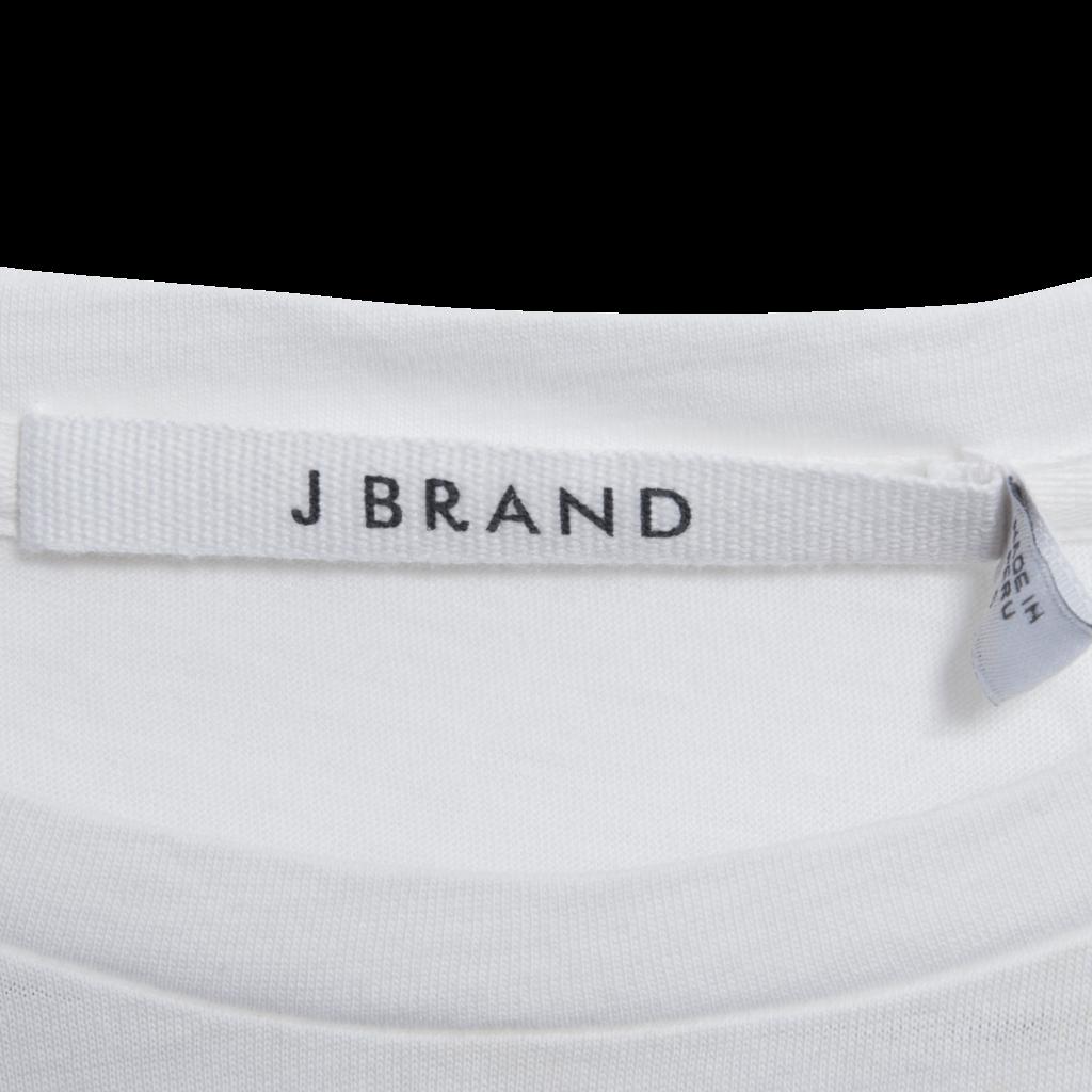 J Brand 811 Short Sleeve Tee - White