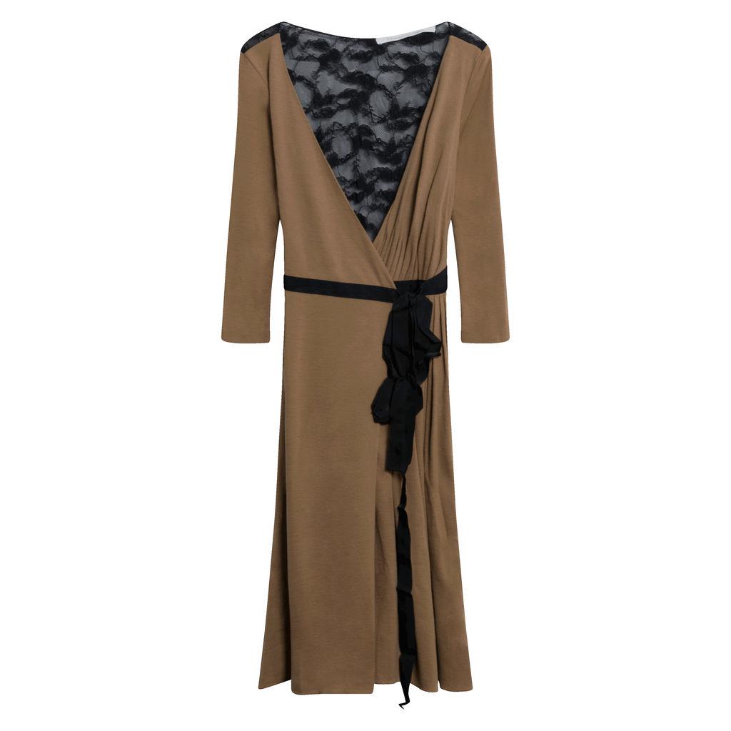 Diane Von Furstenberg Lace Wrap Dress