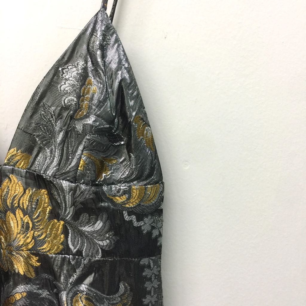 Wolk Morais Metallic Dress curated by Sami Miro