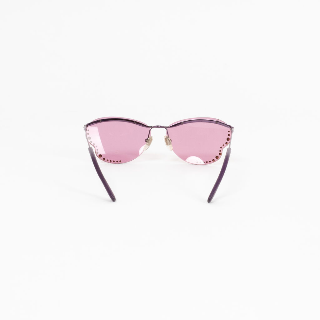 Vintage Versace Butterfly Wing Glasses curated by Sami Miro