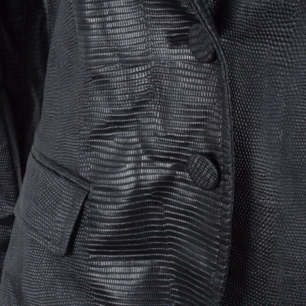 Marella Faux Leather Blazer