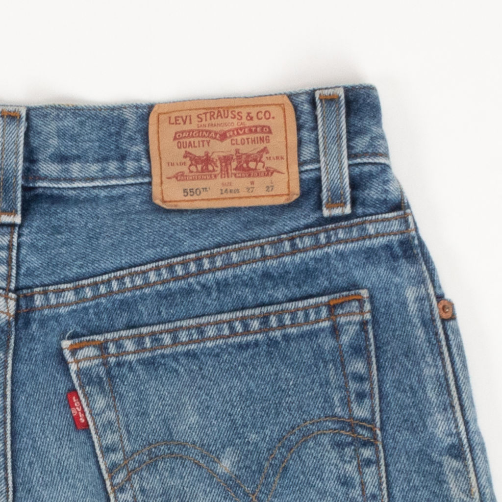 Levis's 550 Denim Shorts