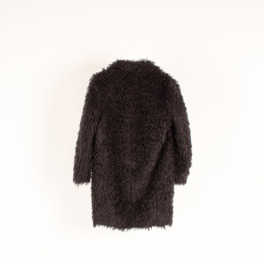 Elizabeth and James Iris Faux Shearling Coat