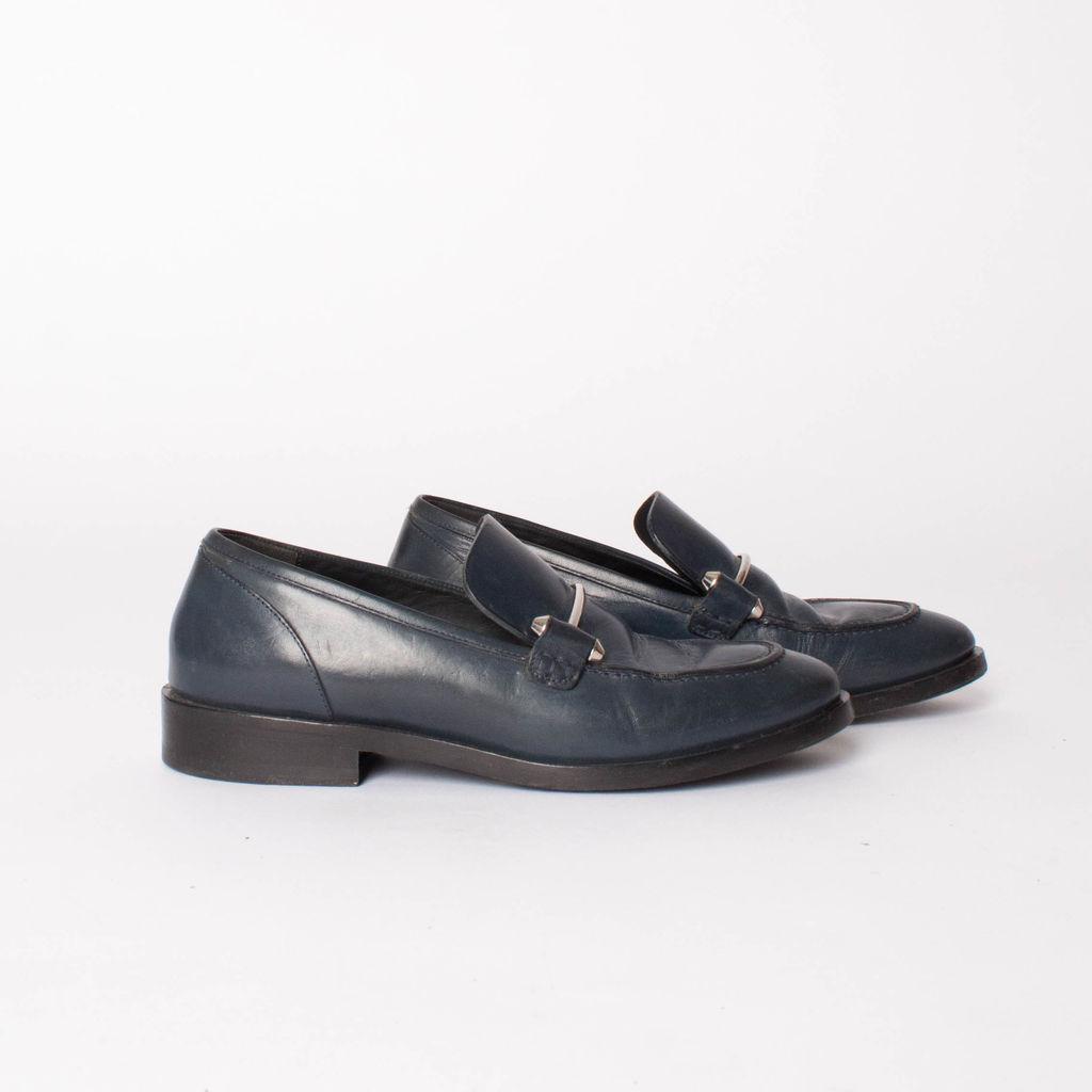 Balenciaga Pierced Loafers