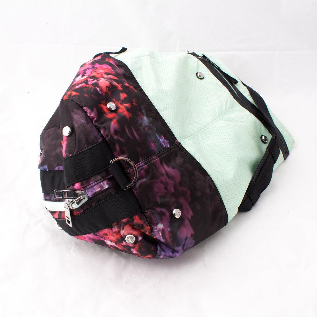 Lululemon Floral/Mint Gym Bag